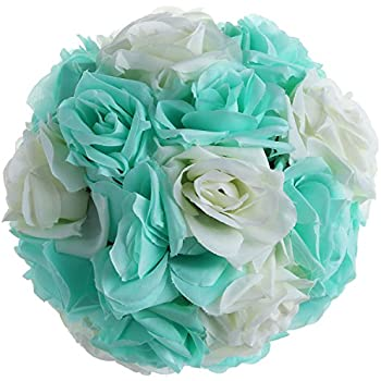 Amazon Rose Flower Ball Toogoor820cmtiffany Blue Wedding