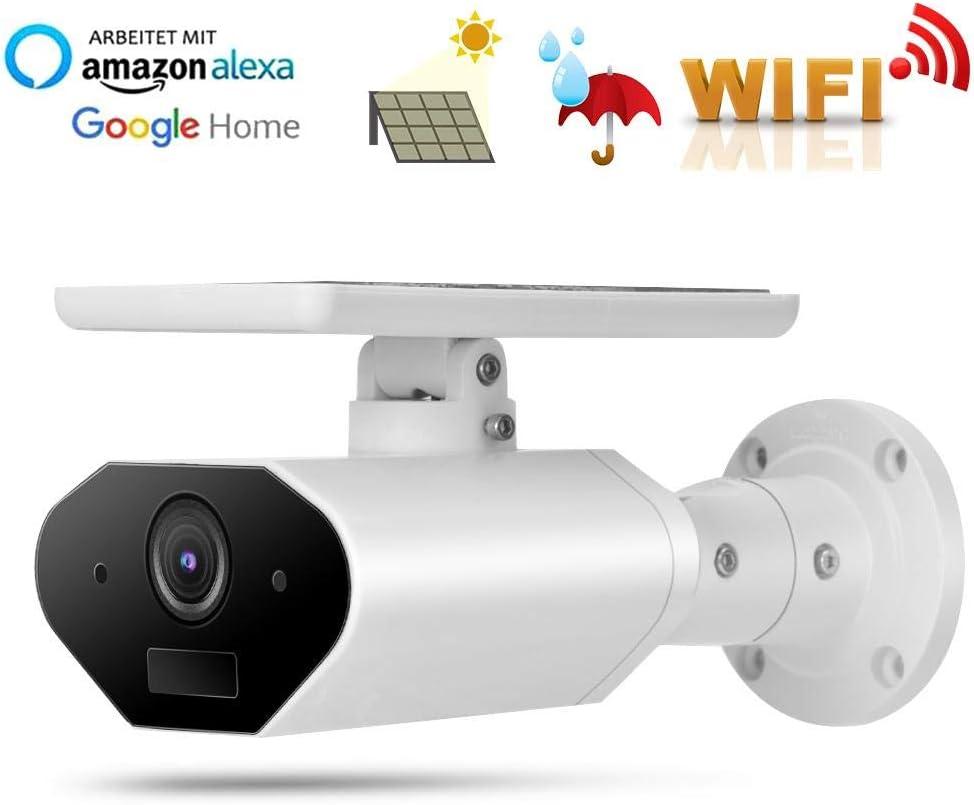 Solarbetriebene IP Kamera 1080P HD Uuml berwachungskamera