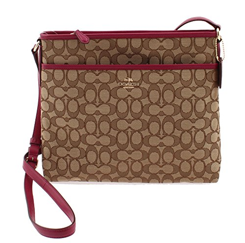 Coach File Bag in Outline Signature – F55363