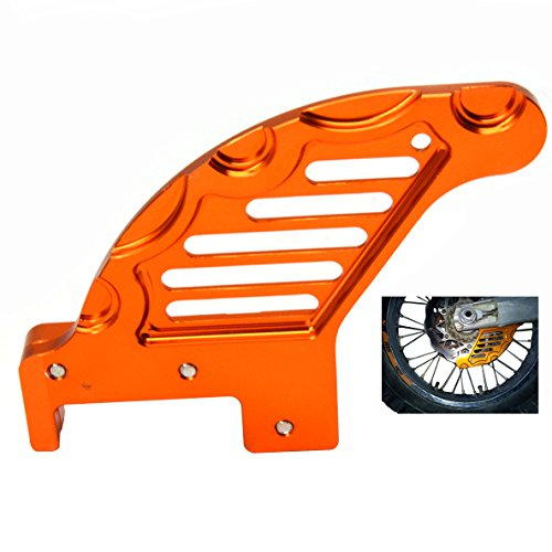 Rear Brake Disc Guard Protector For KTM SX125 144 150 200 250 SXF 250 300 450 505 EXC125 200 250 300 400 450 EXCF 300 XC150 200 250 300 400 450 525(Orange) by LQMY,.LTD