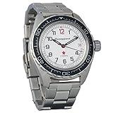 BRAND NEW! Vostok Komandirskie 200 WR Mechanical AUTO Self-winding Mens Military Wrist Watch #020712