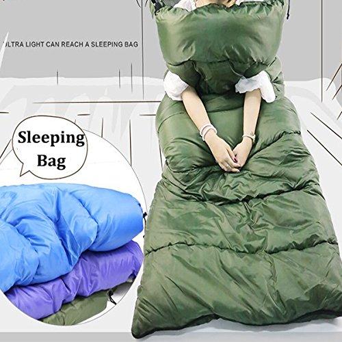 Outdoor Camping Sleeping Bag Adult Cotton Sleep Pad Envelope