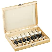 Pit Bull CHIBP7608 Countersink Drill Bit Sets in a Case (22 Piece)