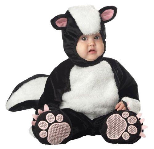 Lil' Stinker Baby Infant Costume - Infant (9 Year Old Skunk Costume)