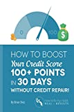 "Did you know that you could have credit scores in the low 600's even if you never missed a bill payment in your life? That's because your payment history is only 35% of your credit score. ""How to Boost You Credit score 100+ Points Without Credit Repa..."