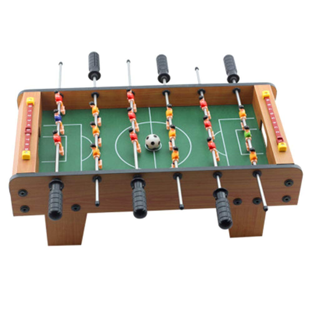 Hejiahuanle Football Soccer Table Game Wooden Kicker Foosball Leisure Family Play Fun Toy MODEL Choice