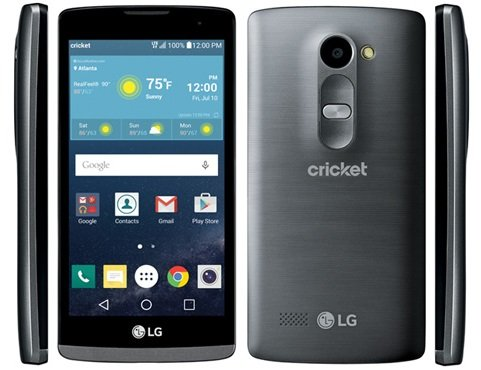 "LG Risio 4G LTE Cricket Wireless Titan 4.5"" display Android"