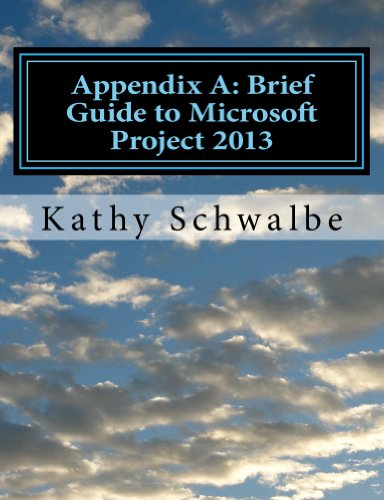 Download Appendix A: Brief Guide to Microsoft Project 2013 Pdf