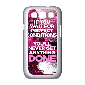 New Design Durable Back Cover Case for Samsung Galaxy S3 I9300 - Quotes CM10L6757
