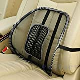 NEW Car Seat Office Chair Back Lumbar Massage Mesh Ventilate Cushion Support Pad Mat