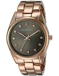 Ellen Tracy Women's ET5198RGGU Grey Dial Classic Ladies Watch