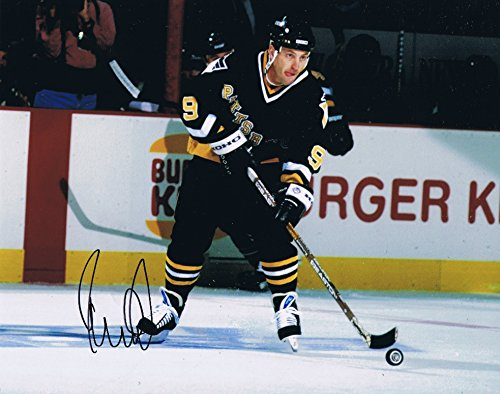 Dan Quinn Signed 8x10 Photo Pittsburgh Penguins Autograph COA