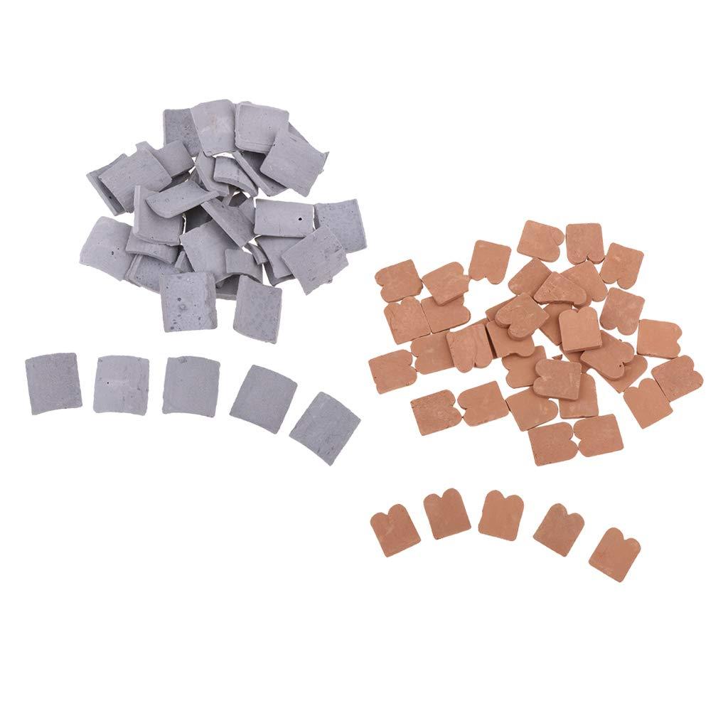 FLAMEER 85 Piezas Miniatura Modelo de Ladrillo para Construcción 1/16 Escala: Amazon.es: Juguetes y juegos