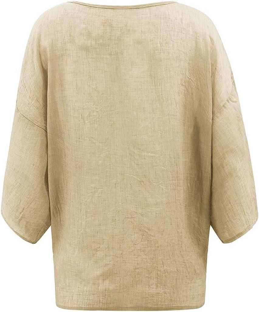 Womens Tops Womens Casual Bat Short Sleeve Tie Knot Solid Criss Cross Front V-Neck T-Shirt