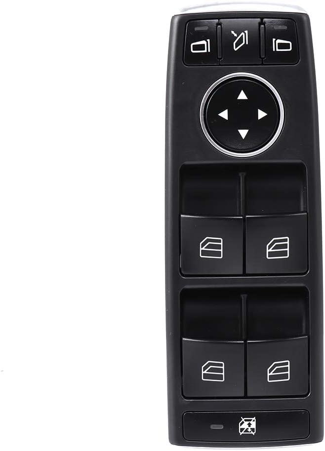 Fits for 2013-2014 Mercedes-Benz C250 2013-2014 Mercedes-Benz C300 C350 C63 2013-2014 E350 2015-2016 E400 2013-2016 E550 2014-2015 GLK350 GLK350 Power Window Switch Driver Side Factory OE A2049055402