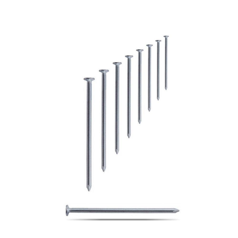 Drahtstifte verzinkt 4,0 x 100 mm 5 kg N/ägel aus Stahldraht Senkkopf