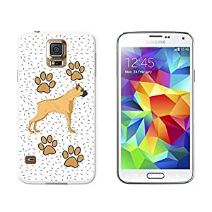 Boxer of Radiance - Snap On Hard Protective Case for Samsung Galaxy S5 - White
