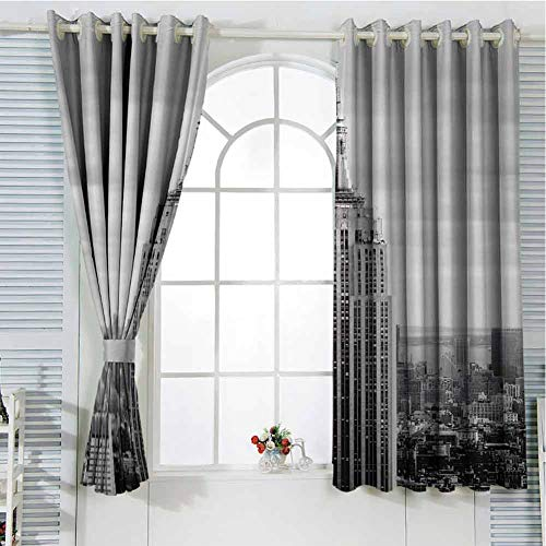 GOMAE Perforated Curtain Empire State Building Facade. It is a 102-story Landmark and American Cultural icon in New York City and Stood as The World's Tallest Building for More Than 40 Years.jpg