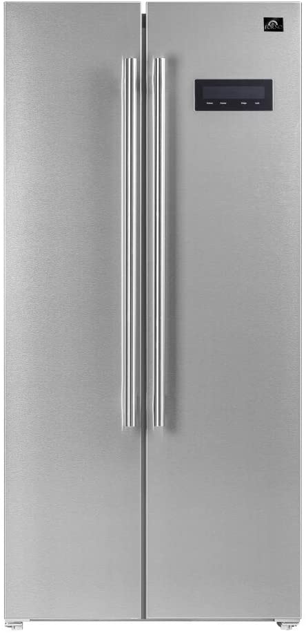 FORNO Salerno 15.6 Cubic Ft. Freestanding Stainless Steel 33