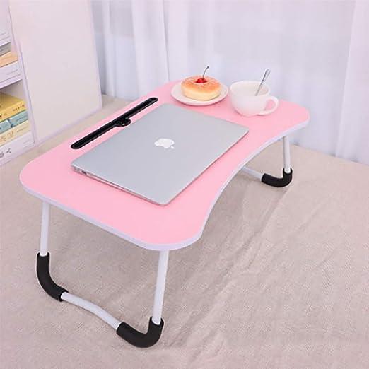 QJIAXING Notebook Table Dorm Desk Desk Dormitorio con Cama de ...