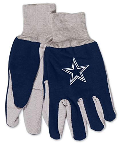 WinCraft NFL Dallas Cowboys GlovesTwo Tone Style Youth Size Gloves, Team Colors, One Size