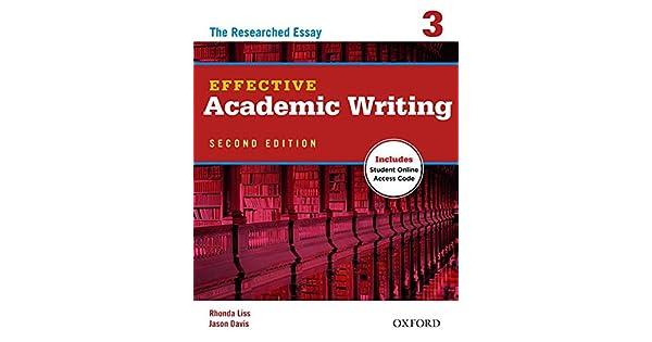 effective academic writing 3 pdf
