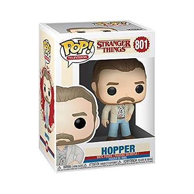 Funko Pop! Television: Stranger Things - Hopper: Toys & Games