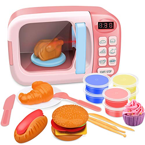 GrowthPic Kitchen Toy Microwave