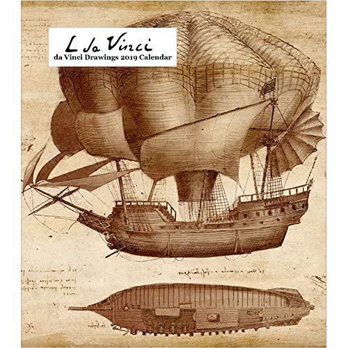 - Retrospect Group Leonardo da Vinci Drawings 2019 Desk Calendar (YCD 046)