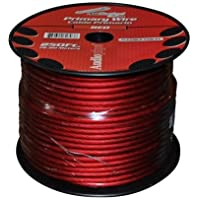 Audiopipe Ps4rd Red Car Audio 4 Gauge 250 Spool