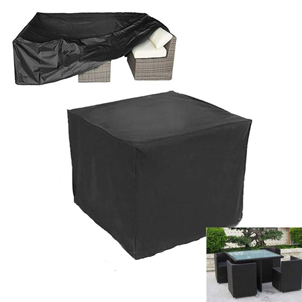 FCZBHT Furniture Cover Outdoor Dust Cover  Indoor  Table and Chair Cover Thicken  Oxford Cloth Waterproof and UV Resistant  Polyester  Used in All Seasons, Customizable Size Dust Guard by FCZBHT
