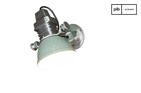 Applique sogelys finition argentée finition brillante la lampe
