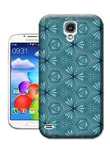Bradley's Shop Dark Blue Butterfly-shaped Stripe Wallpaper Phone Cases for SAMSUNG GALAXY S4