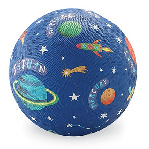 Crocodile Creek Solar System Playground Ball, Blue, 7