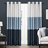 Kitchen Window Curtains Pottery Barn Exclusive Home Curtains Chateau Faux Silk Window Curtain Panel Pair, 54