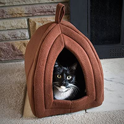 PAW Enclosed Cube Pet Bed