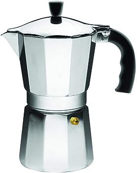Imusa B120-42V 3-Cup Aluminum Espresso Moka Pot Stovetop Coffeemaker
