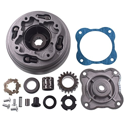 JRL 18 Teeth Clutch Assembly Fit SEMI Automatic 70cc 110cc 125cc ATV DIRT BIKE - Automatic Bikes Clutch Dirt