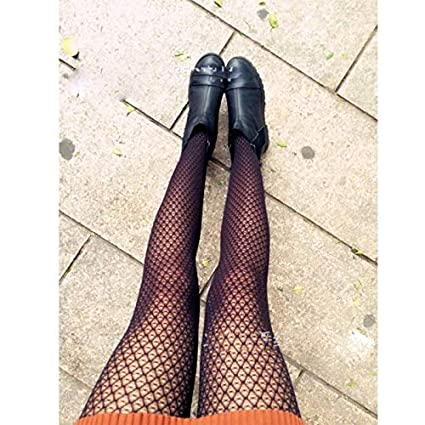 KathShop Sexy Stockings Lace Women Tights Female Pantyhose Ladies Fishnet Stockings Vintage Back Seam Transparent Chaussette