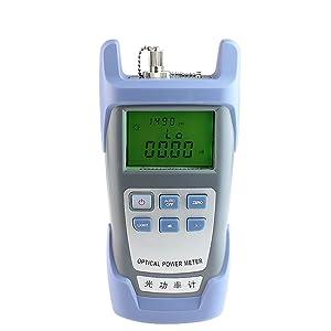 DAXGD FTTH Medidor de potencia de fibra óptica Probador de cable óptico de fibra 70dBm ~ + 10dBm Longitud de onda de trabajo 850-1625nm