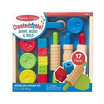 Melissa & Doug Shape, Model & Mold Play Clay: Melissa & Doug: Toys & Games