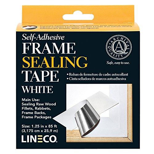 Lineco Archival Material - Frame Sealing Tape Color: White