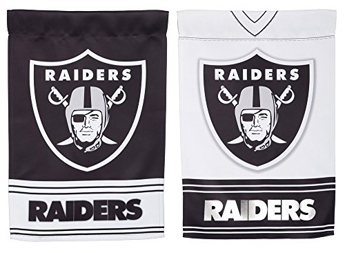 Team Sports America Oakland Raiders Double Sided Jersey Sued