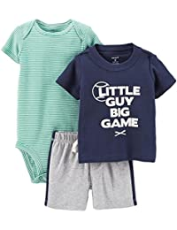 Baby Boys' 3 Piece Layette Set (Baby)