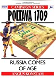 Front cover for the book Poltava 1709: Russia Comes of Age by Angus Konstam