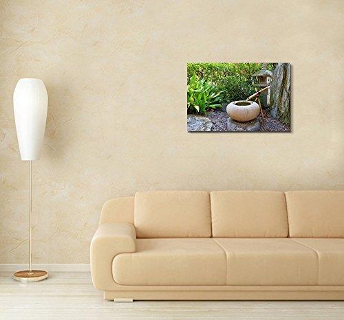 Beautiful Scenery Landscape Japanese Garden in Monte Carlo Monaco Wall Decor