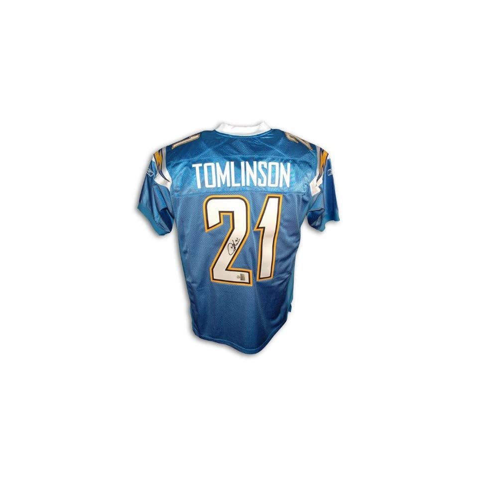 LaDainian Tomlinson San Diego Chargers Autographed Powder Blue Reebok Authentic Jersey