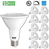 Sunco Lighting 10 Pack PAR30 LED Light Bulb 11 Watt (75W Equivalent) Flood Dimmable 2700K Kelvin Soft White, 850 Lumens, Indoor/Outdoor, 25,000 Hrs, Accent and Highlight - UL & ENERGY STAR LISTED