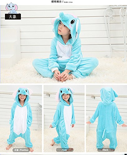 Onesie Elefant Kigurumi Children' Kids Halloween Mehrfarbig Animal Tonwhar S Cosplay Costumes gqRYwBSS