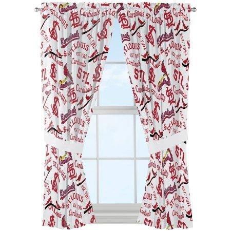 St Louis Cardinals Shower Curtain Set